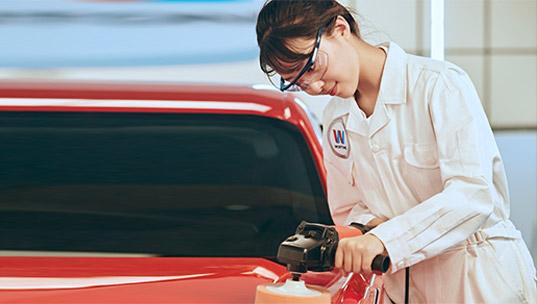 汽车美容技师-武汉万通汽车学校